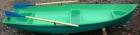 Гребная (весельная лодка Дельфин из пластика